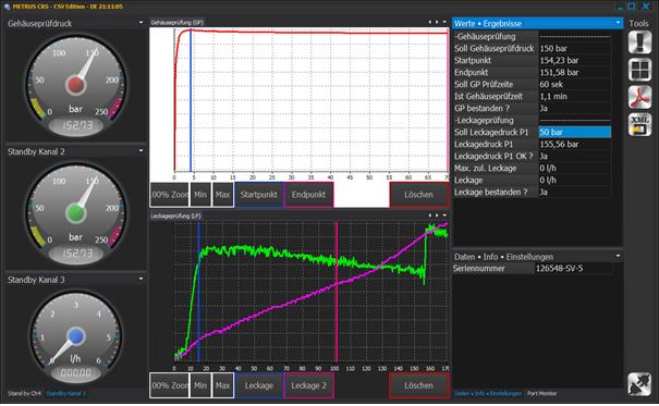 METRUS CRS - mit Datenanbindung und Reduzierung auf notwendige Funktionen.
