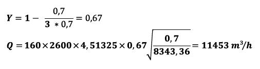 Nenndurchfluss - Formel
