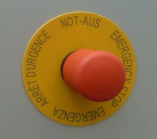 Not-Aus-Schalter