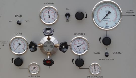 Hochdruck Luft/Gas Anschluss