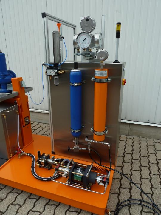 Hochdruck Luft/Gas Booster